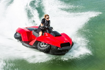 quadski on water